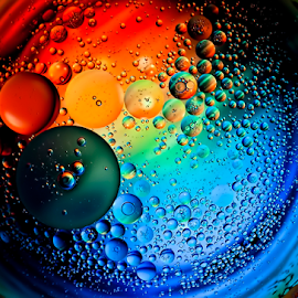 by Robert Cinega - Abstract Water Drops & Splashes