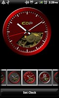 Screenshot of Red Crazy Clock Pack