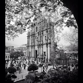 Ruínas de São Paulo - Macau by Michael Gunawan - Instagram & Mobile iPhone