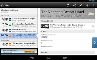 Screenshot of TripIt Travel Organizer – Free