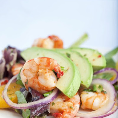 Seared Shrimp Salad