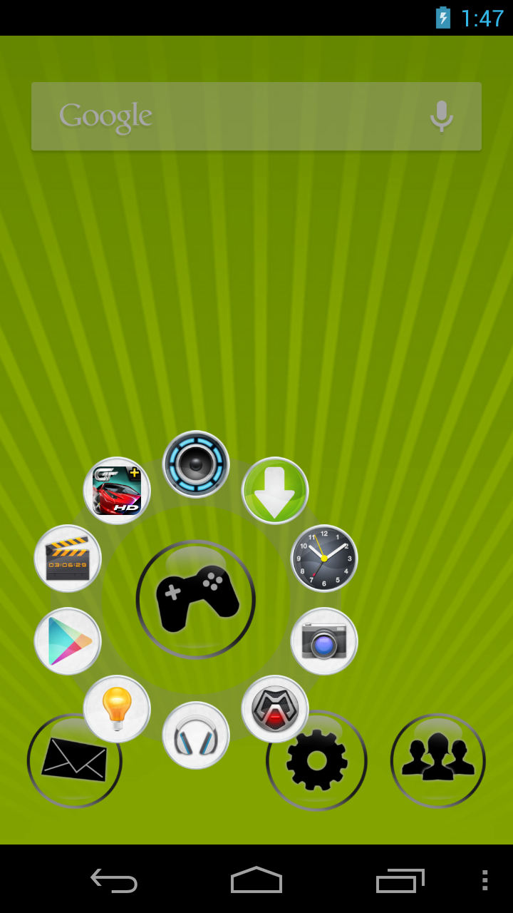 CircleLauncher Screenshot 2