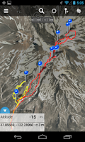 Screenshot of Gaia GPS: Topo Maps and Trails