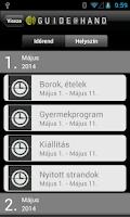 Screenshot of Nyitott Balaton GUIDE@HAND