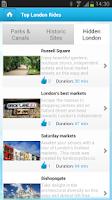 Screenshot of Barclays Bikes