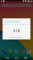Screenshot of Switcher for Bluetooth Audio