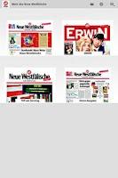 Screenshot of NW ePaper