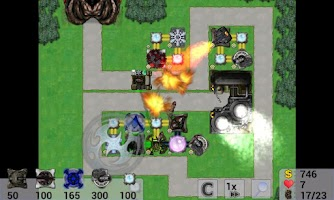 Screenshot of Combo Defense
