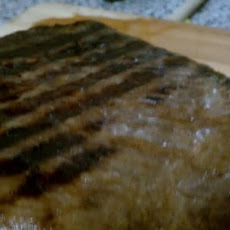 Fresh Parsley & Soy Sauce Marinated Flank Steak