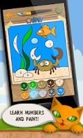 Screenshot of Kids Coloring and Math Free