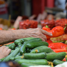 At the market by Shaul Aidukowsky - Food & Drink Fruits & Vegetables