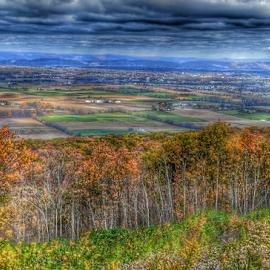 Rothrock Park by Steve Friedman - Landscapes Prairies, Meadows & Fields ( mountain, seasonal changes, fields )
