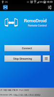 Screenshot of RemoDroid