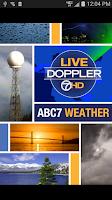 Screenshot of ABC7 Weather: SF/Bay Area