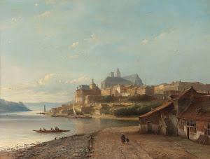 RIJKS: Kasparus Karsen: painting 1870
