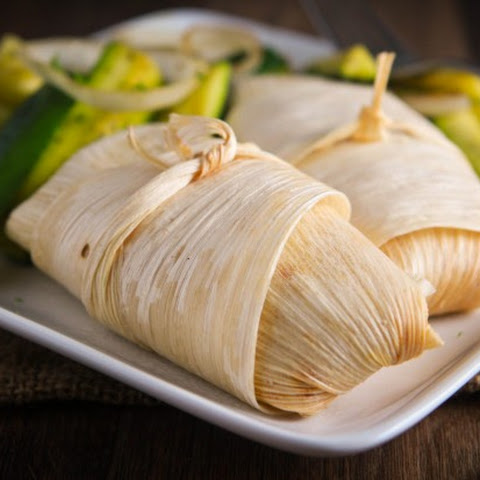 Homemade Vegan Tamales