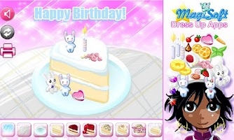 Screenshot of Laqwan's Cake Decorator