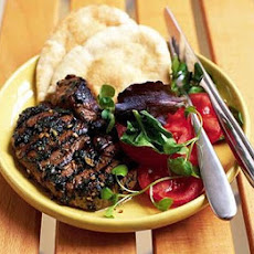 BBQ minty garlic lamb