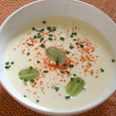 White Gazpacho With Grapes