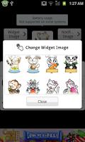 Screenshot of Battery widget Z