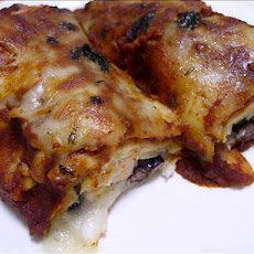 Chicken & Black Bean Enchiladas