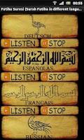 Screenshot of Surah Fatihah