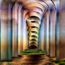 The Bridge by Terri Anderson - Abstract Patterns (  )