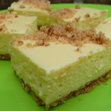 Lemony Cheesecake Bars