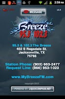 Screenshot of 95.3 & 102.3 The Breeze