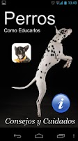 Screenshot of Perros. Como educar un perro.