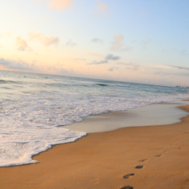 Nags Head Beach by Ashleigh Brown - Landscapes Beaches ( obx, nc, outer banks )