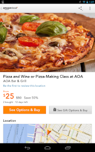 App Amazon Local: Offers near you apk for kindle fire