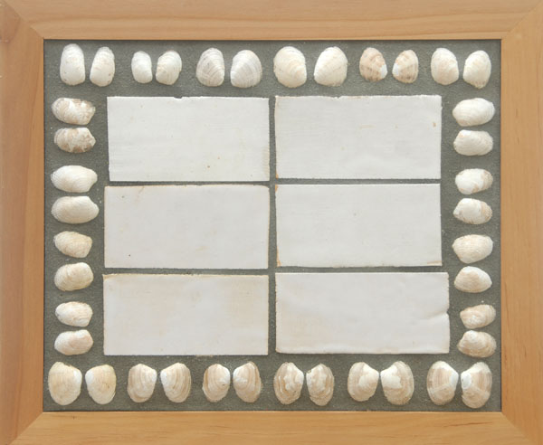 Clam Shell Table <br> 15, 5 x 18, 3 x 22