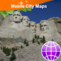 Rapid City Sturgis Mt Rushmore icon