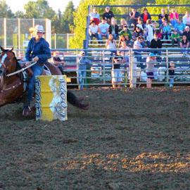 Barrel Racer by Samantha Marshik - Sports & Fitness Rodeo/Bull Riding