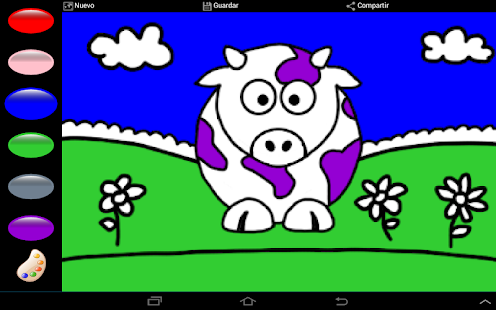 Colorful animals Penny Pig - screenshot