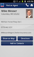 Screenshot of Shelter Insurance® Mobile