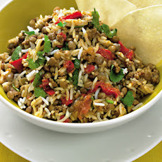 Cheat's Beef Biryani