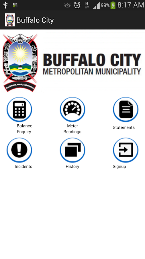 BCMM Mobile Municipal App Screenshot 5