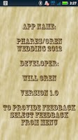Screenshot of Phares/Oren Wedding 2012