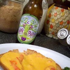 Tomato Cheddar Rarebit