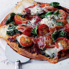 Parma And Tomato Wrap Pizza