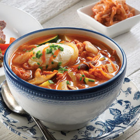 Korean Kimchi Stew with Tofu