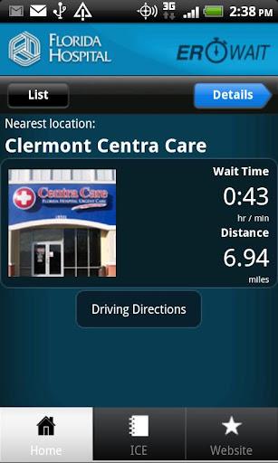 Florida Hospital ER Wait