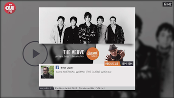 Screenshot of OUIFM - Rock Pop and Soul