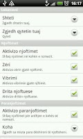 Screenshot of Takvimi - Shqip