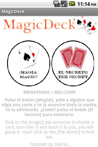Magic Deck