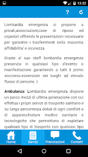 Lombardia Emergenza - screenshot