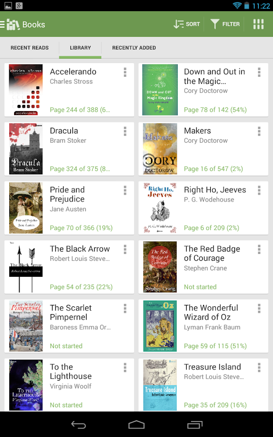 Aldiko Book Reader Premium Screenshot 13