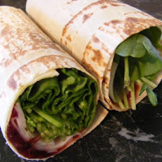 Turkey and Cranberry Wrap (21 Day Wonder Diet: Day 9)